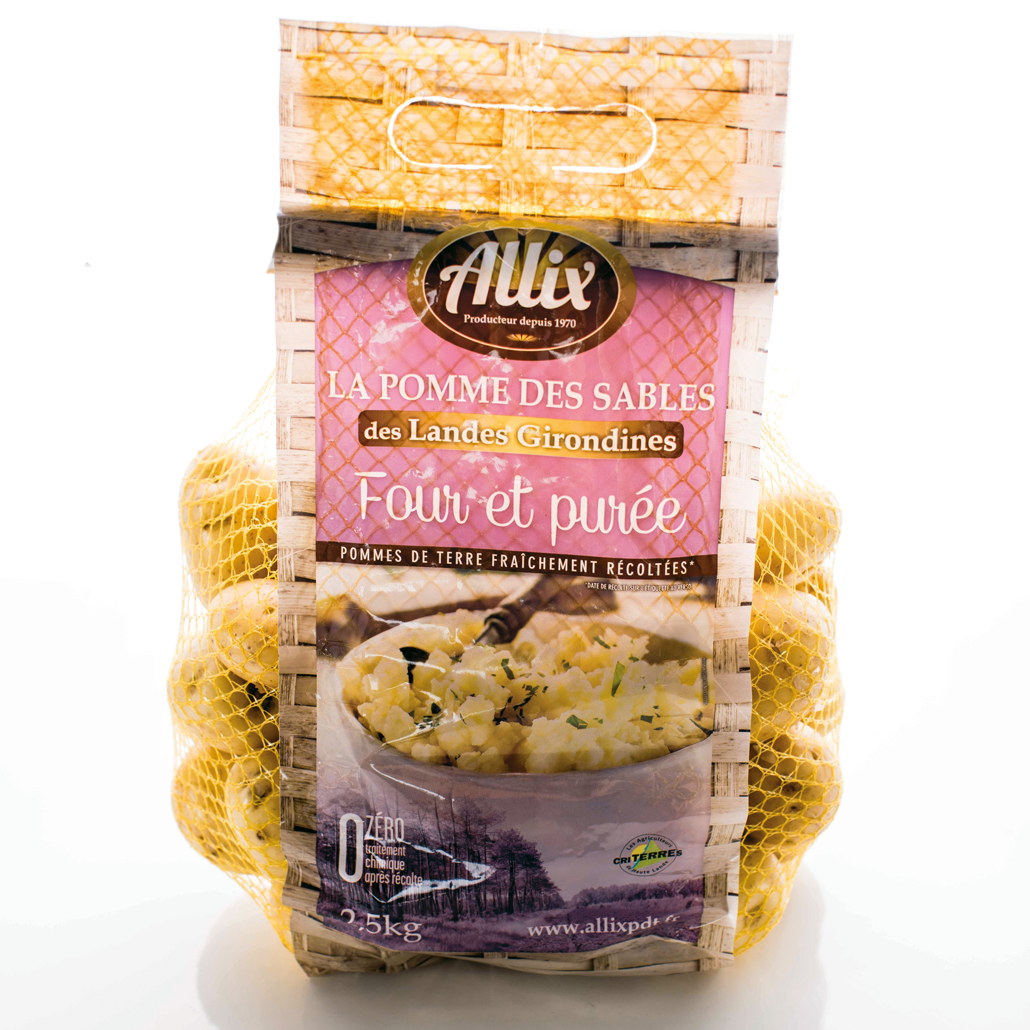 Allix - Packaging produit