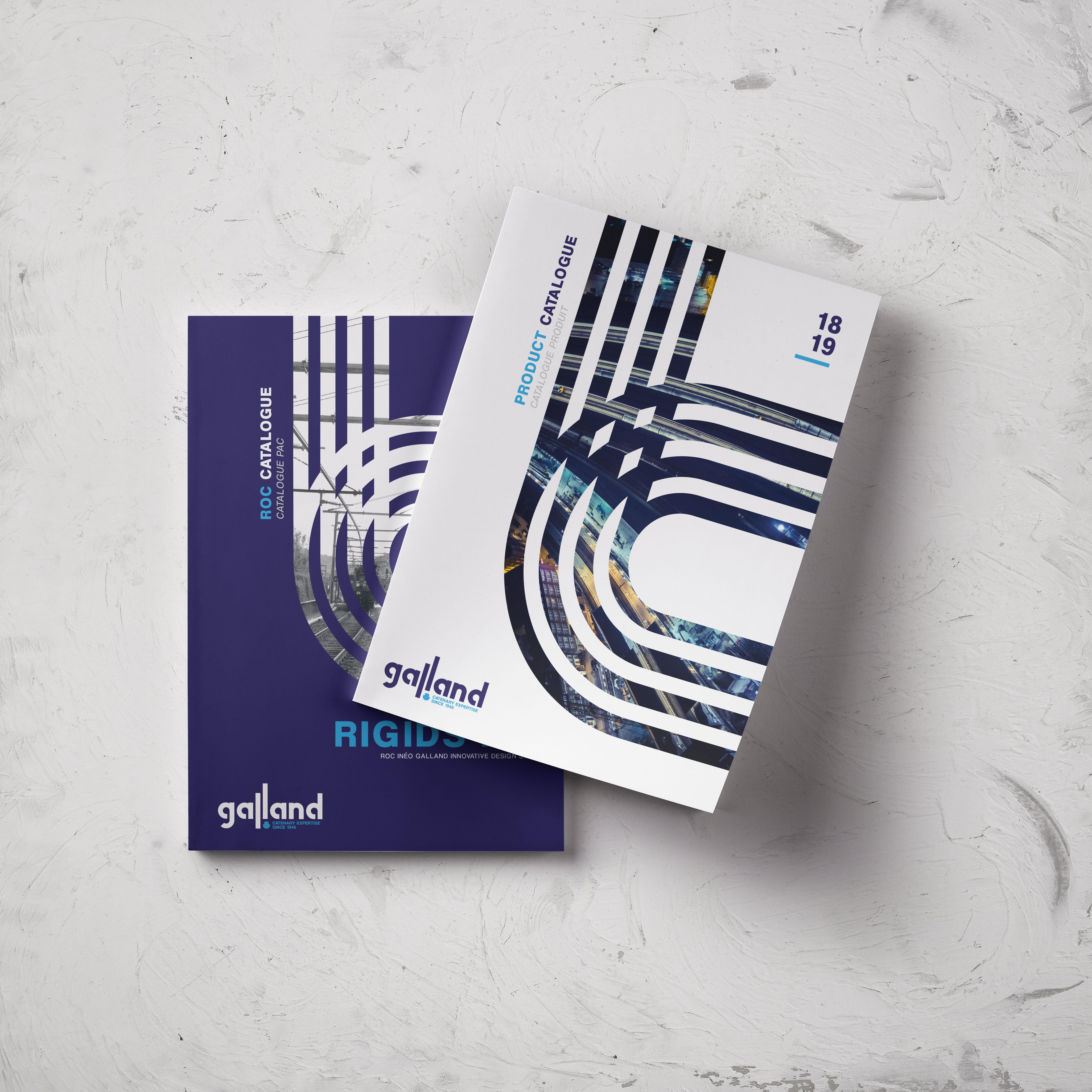 Galland - Création catalogue produits