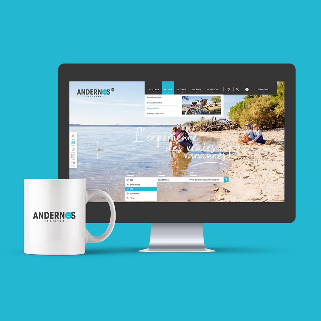 Site web Andernos