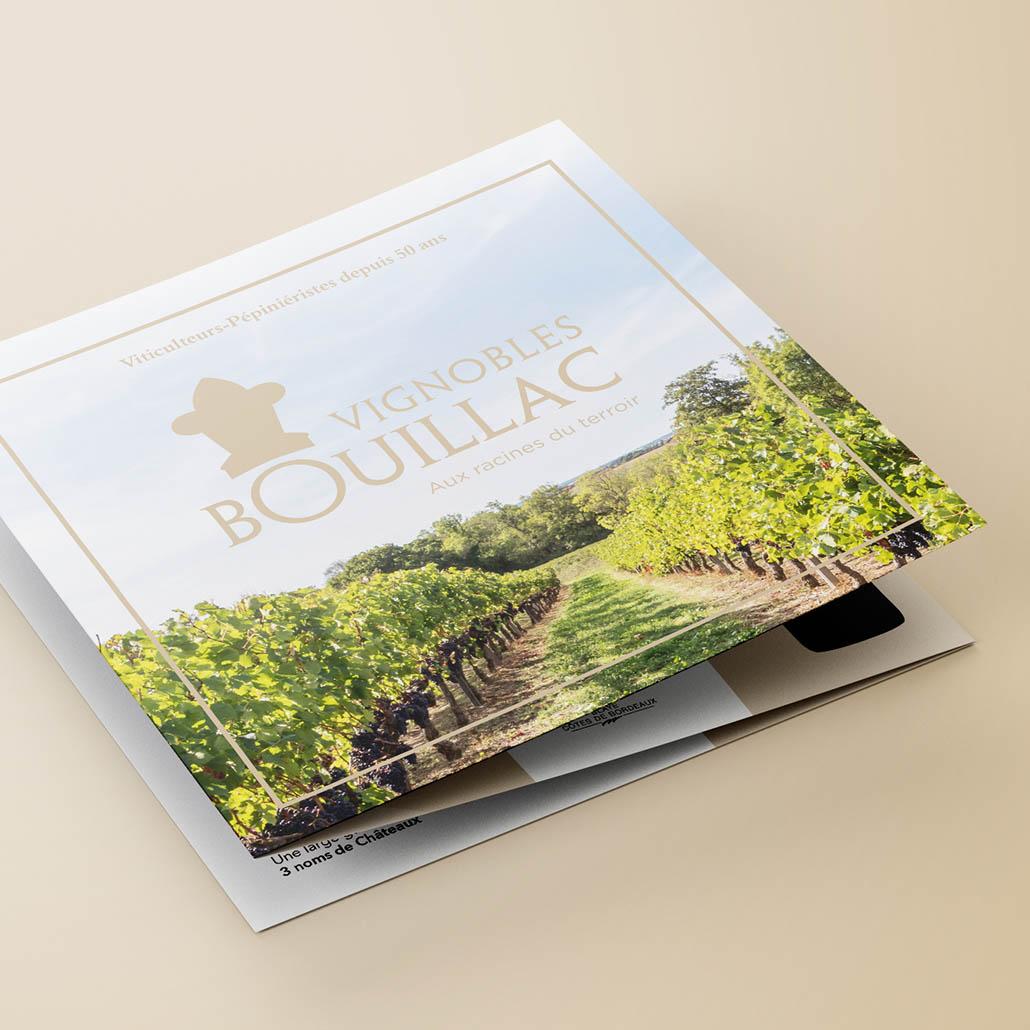 communication, vin, vignoble, plaquette, bouillac, viticulture, pépinière