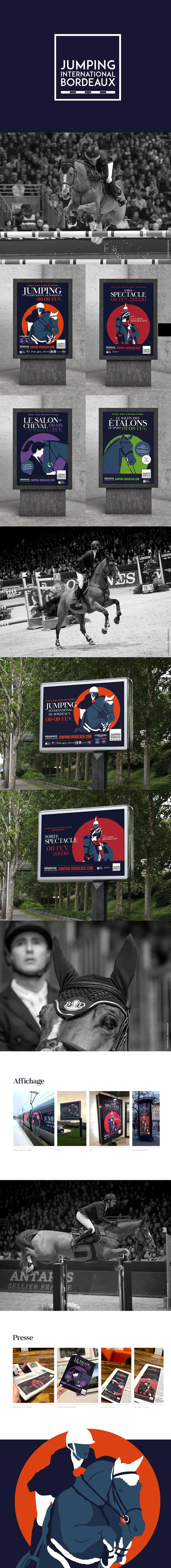 Jumping International de Bordeaux : affiche 2020