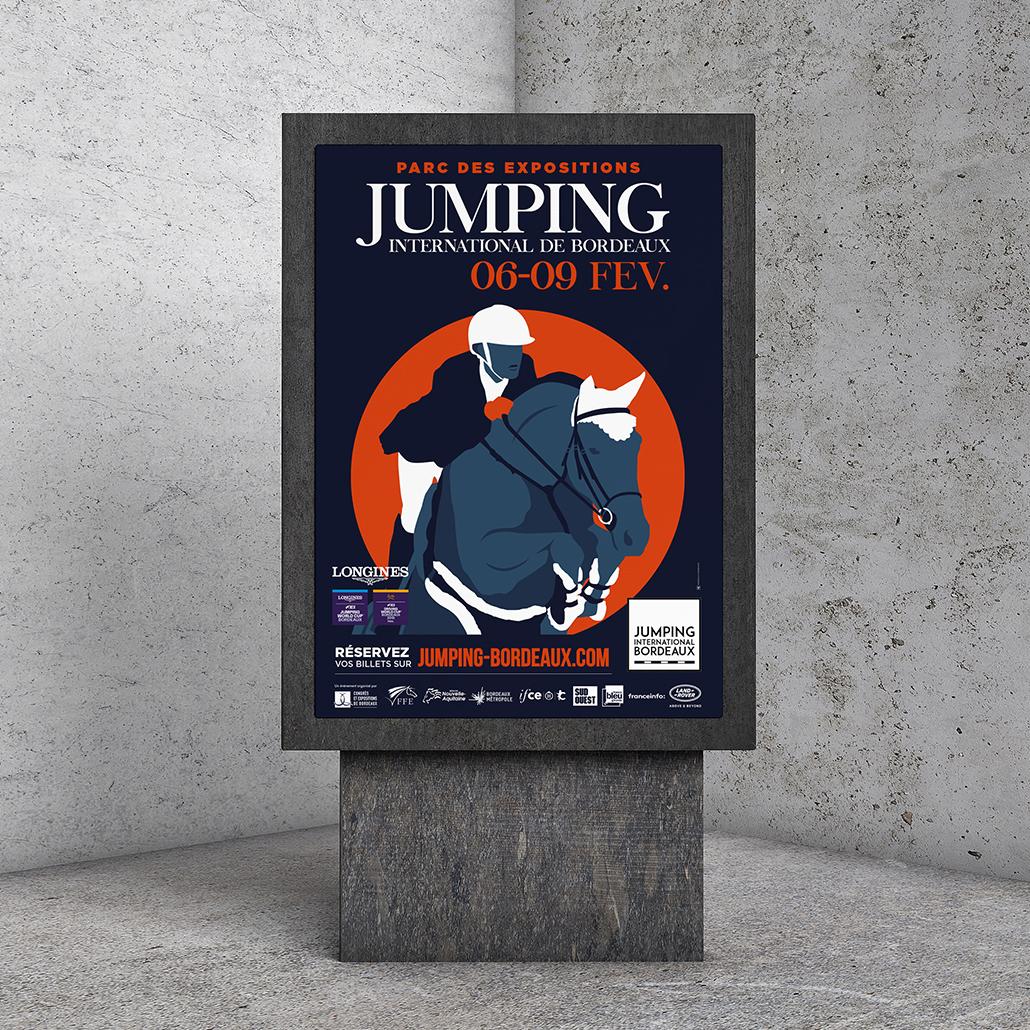 Publicité Jumping International de Bordeaux