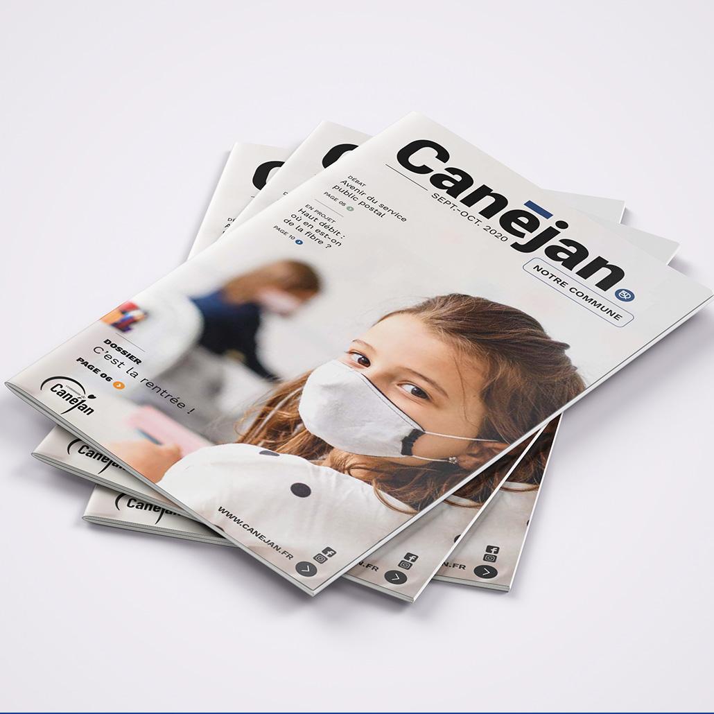 Magazine de la ville de Canejan